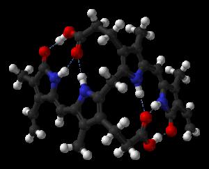 bilirubina struttura tetrapirrolica